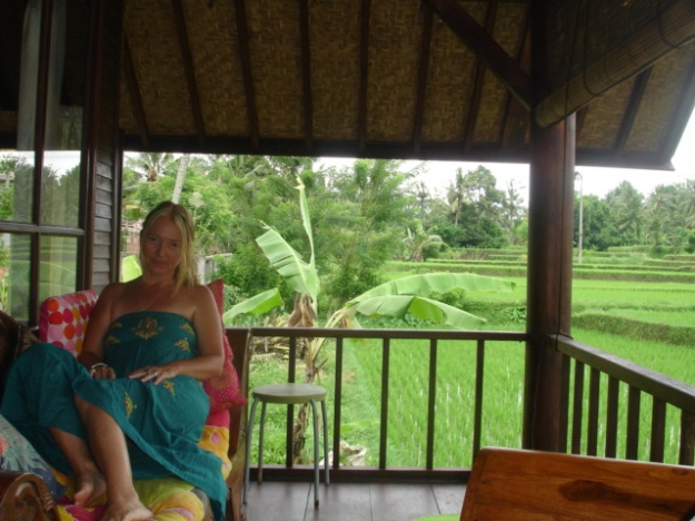 My new home in Ubud