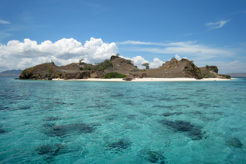 an island in Komodo national park