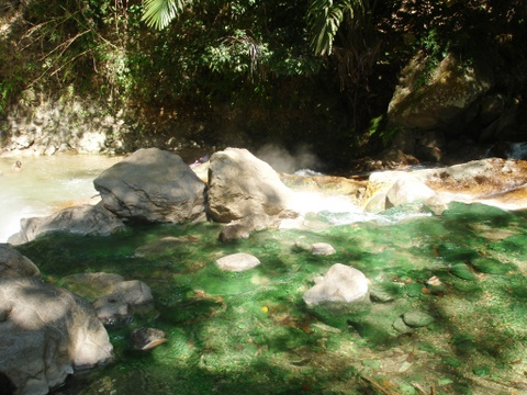 hot springs near Bajawa