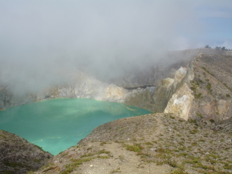 Mists at Kelimut