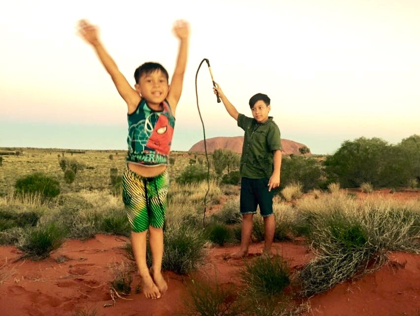 6.Jala and Kayan at Uluru.jpg