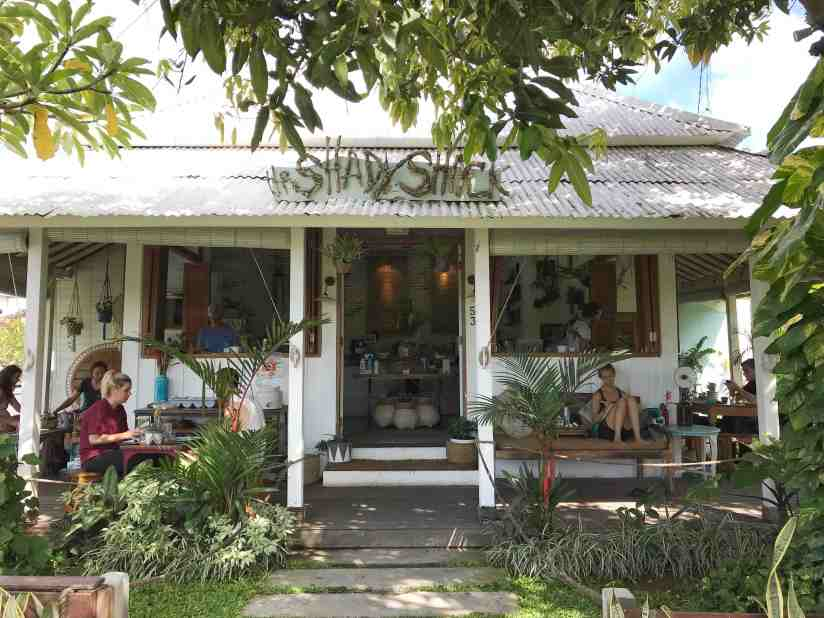 Healthy restaurants in Bali